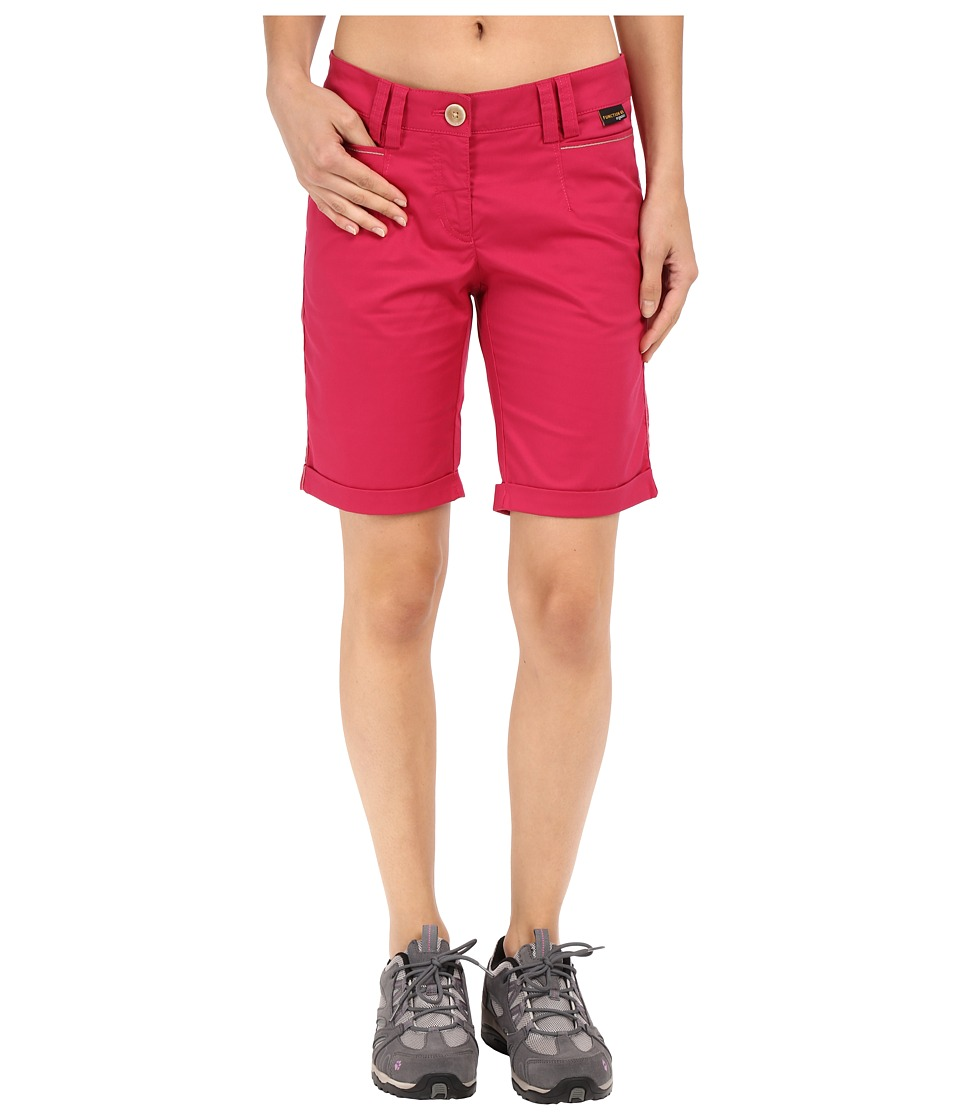 Jack Wolfskin - Liberty Shorts (Azalea Red) Women's Shorts