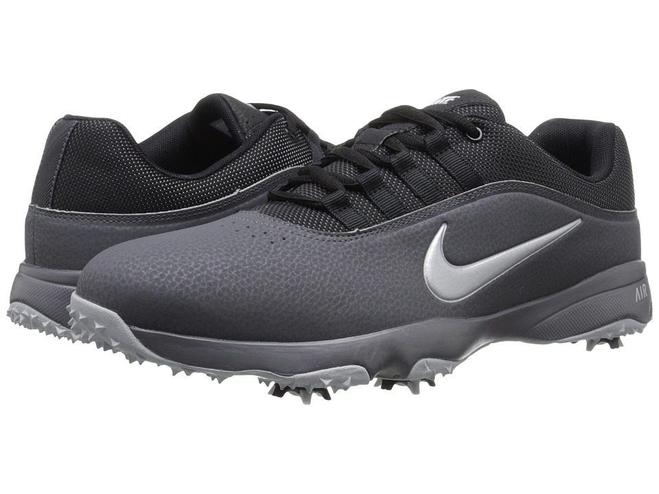 Nike Golf - Air Rival 4 (Black/White/Black) Men's Golf Shoes