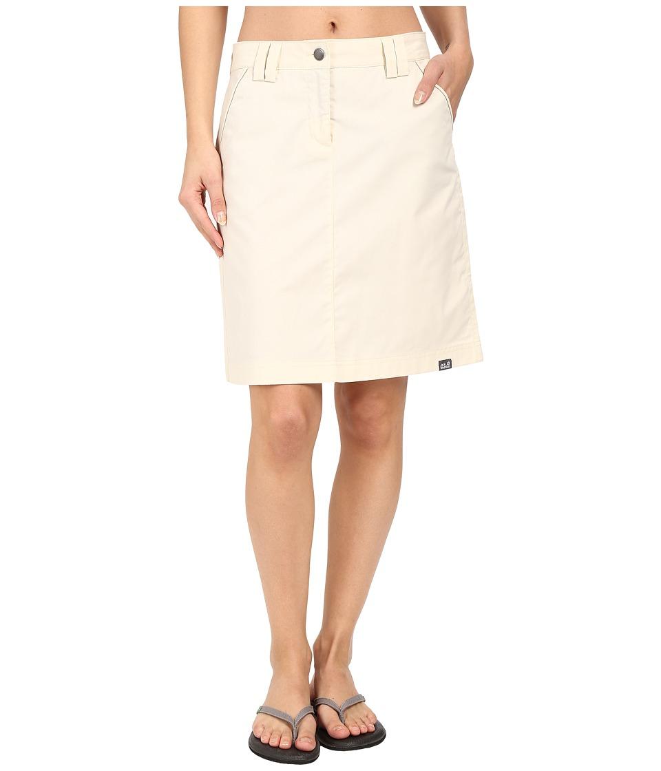 Jack Wolfskin - Liberty Skirt (White Sand) Women's Skirt