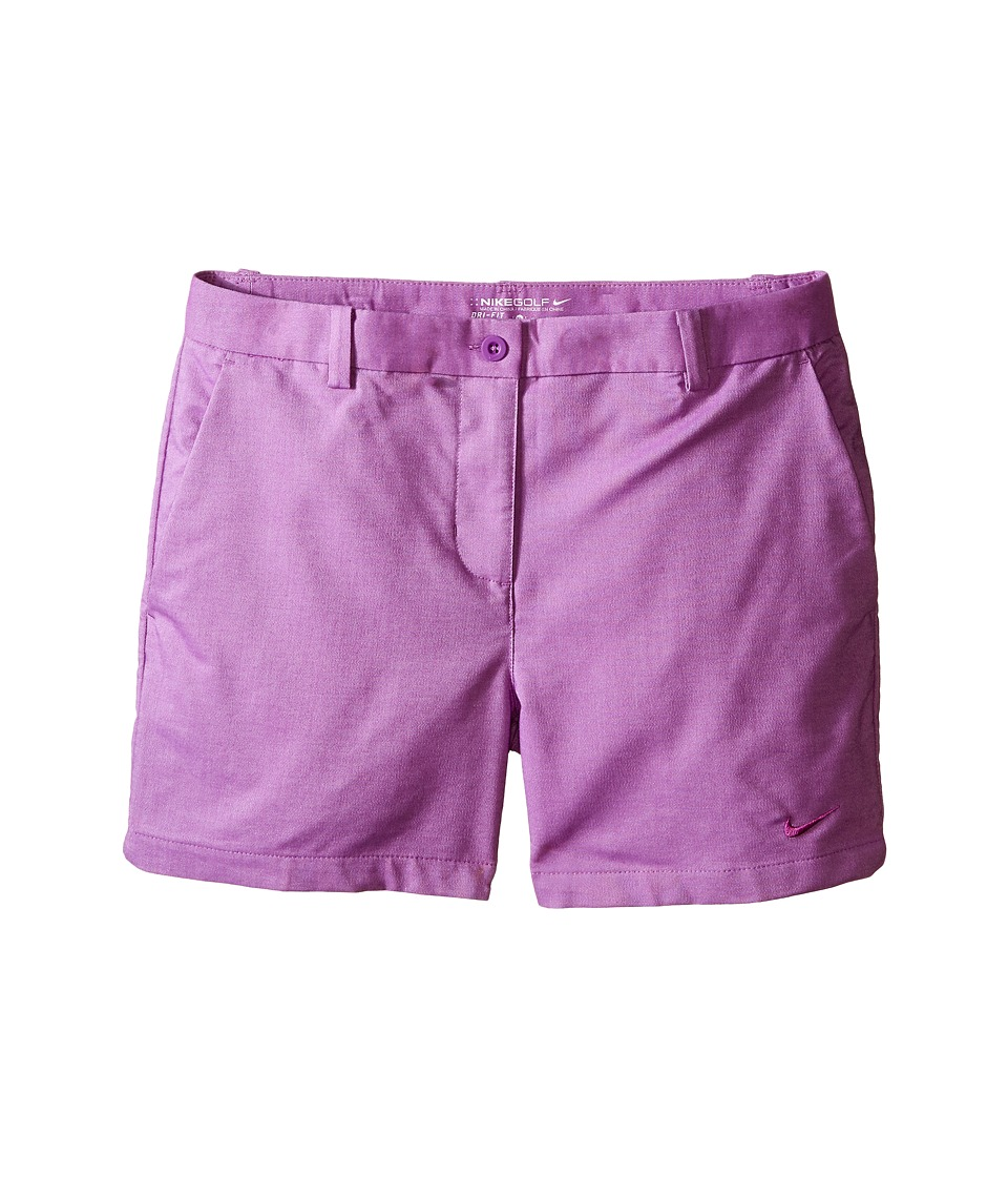 Nike Kids - Golf Shorts (Little Kids/Big Kids) (Cosmic Purple/Cosmic Purple) Girl's Shorts