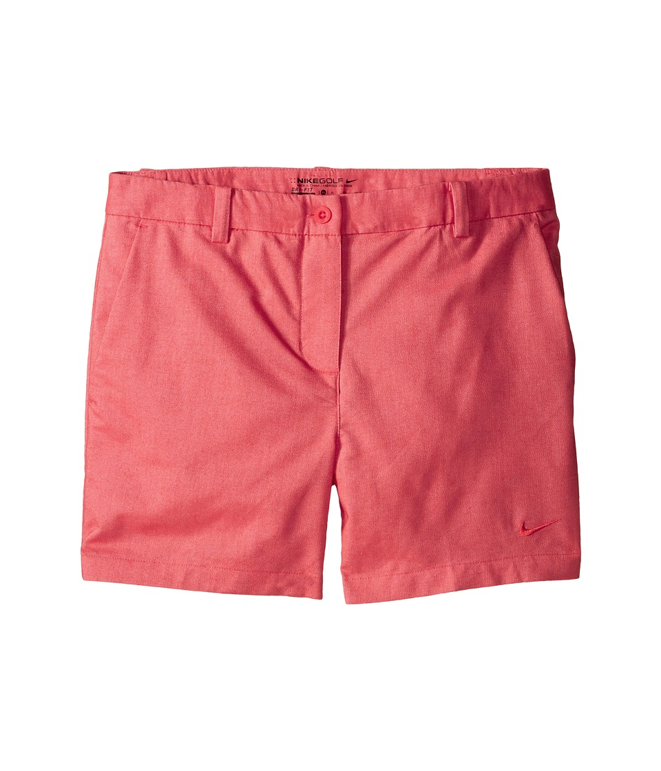Nike Kids - Golf Shorts (Little Kids/Big Kids) (Light Crimson/Light Crimson) Girl's Shorts