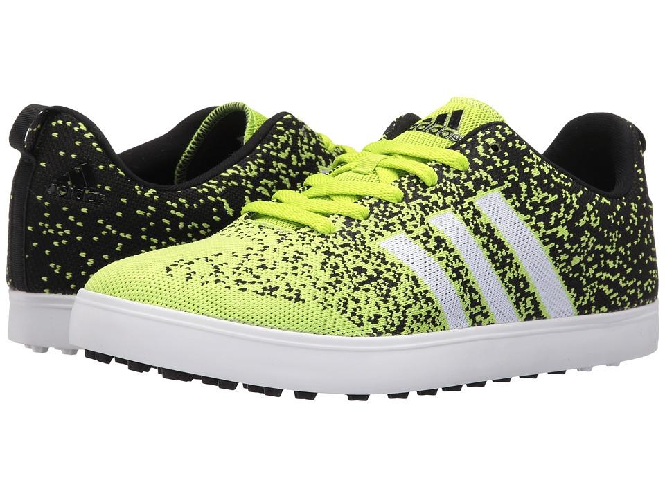 adidas Golf Adicross Primeknit (Solar Slime/Core Black/Ftwr White) Men
