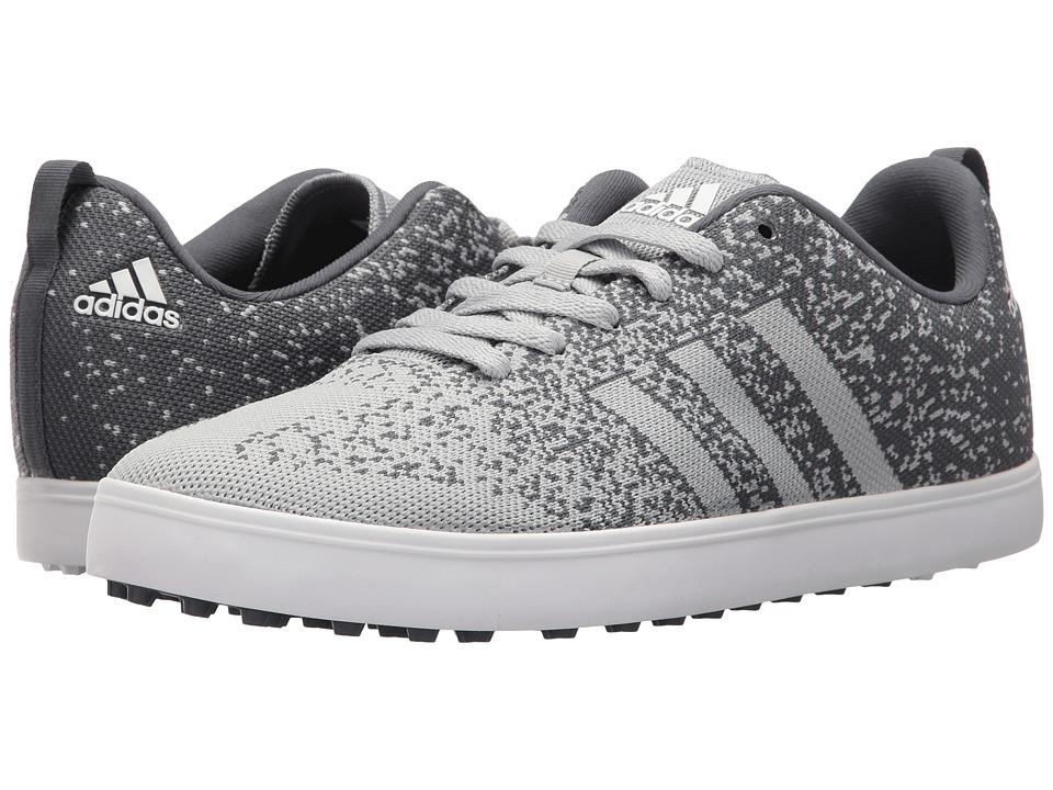 adidas Golf - Adicross Primeknit (Clear Onix/Onix/Ftwr White) Men's Golf Shoes