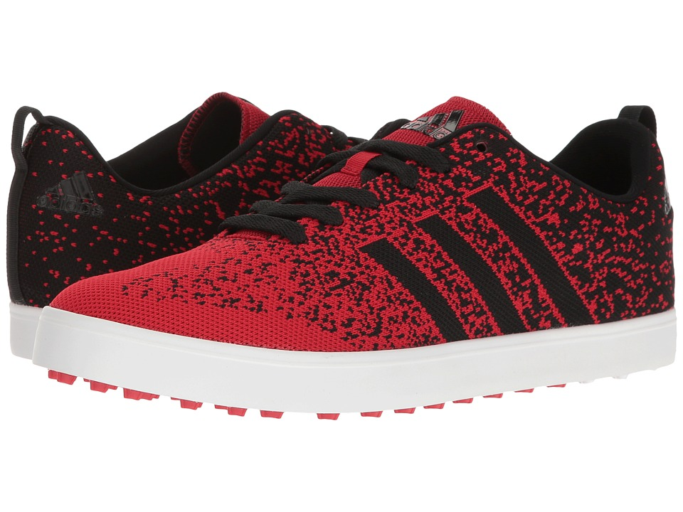 adidas Golf - Adicross Primeknit (Power Red/Core Black/Ftwr White) Men's Golf Shoes