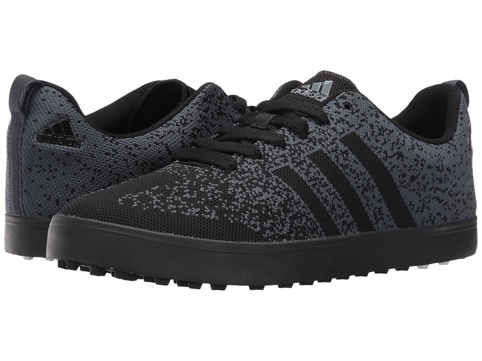 adidas Golf Adicross Primeknit (Core Black/Core Black/Bold Onix) Men