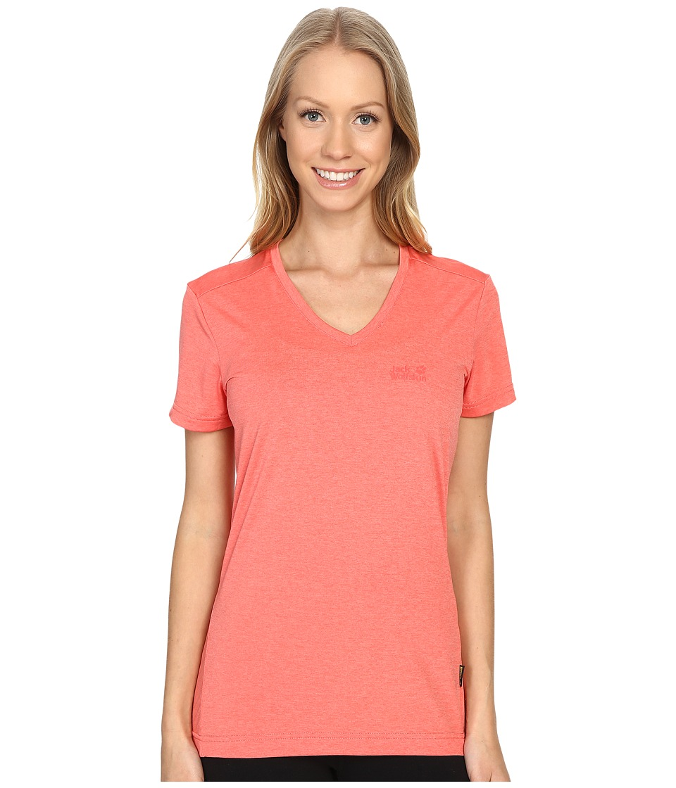 Jack Wolfskin - Crosstrail T-Shirt (Grapefruit) Women's T Shirt