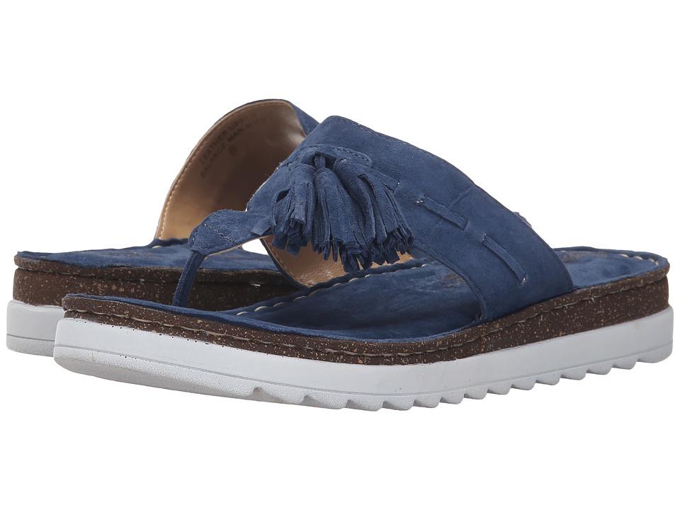 Seychelles - Ahead (Denim Suede) Women's Sandals