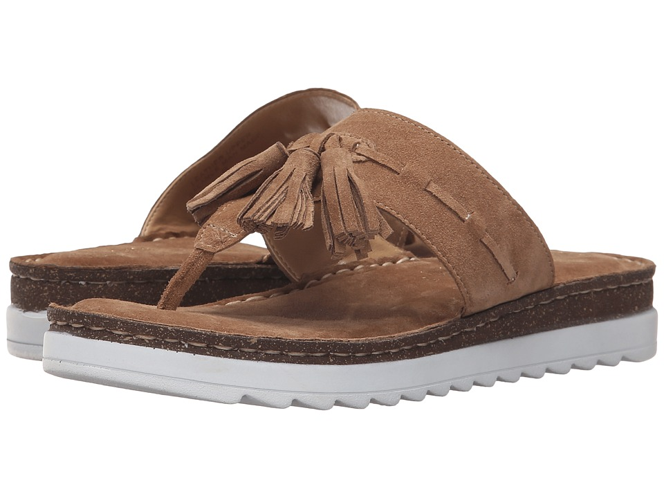 Seychelles - Ahead (Sand Suede) Women's Sandals