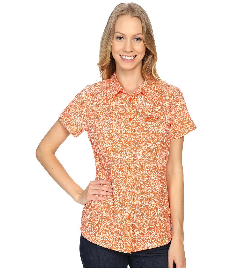 Jack Wolfskin - Wahia Print Shirt (Watercress Blossom All Over) Women's Clothing