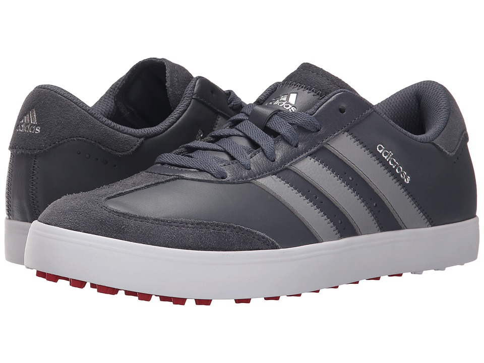 adidas Golf Adicross V (Onix/Light Onix/Ftwr White) Men