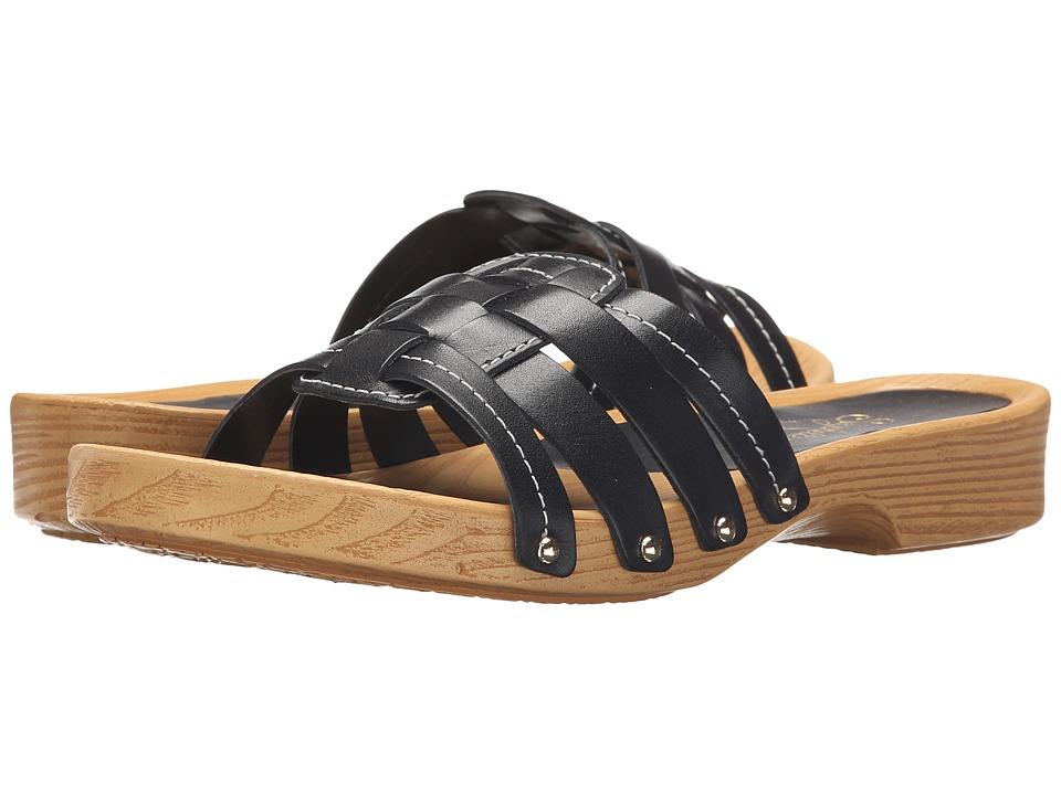 Seychelles - Whiz (Black Leather) Women's Sandals