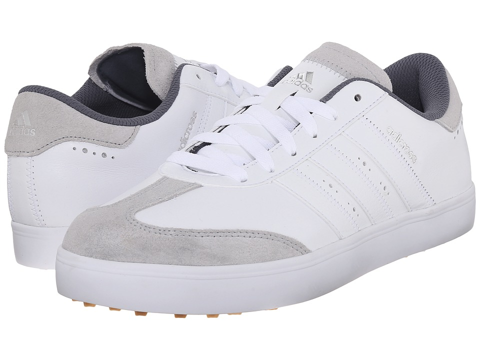 adidas Golf - Adicross V (Ftwr White/Ftwr White/Gum 3) Men's Golf Shoes