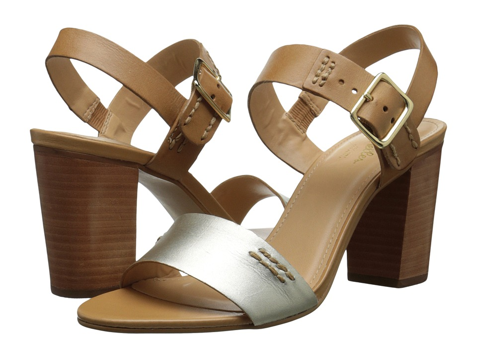 Seychelles Champion (Gold/Luggage) High Heels
