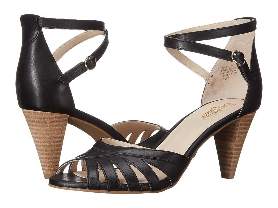 Seychelles - Scenic (Black Leather) High Heels