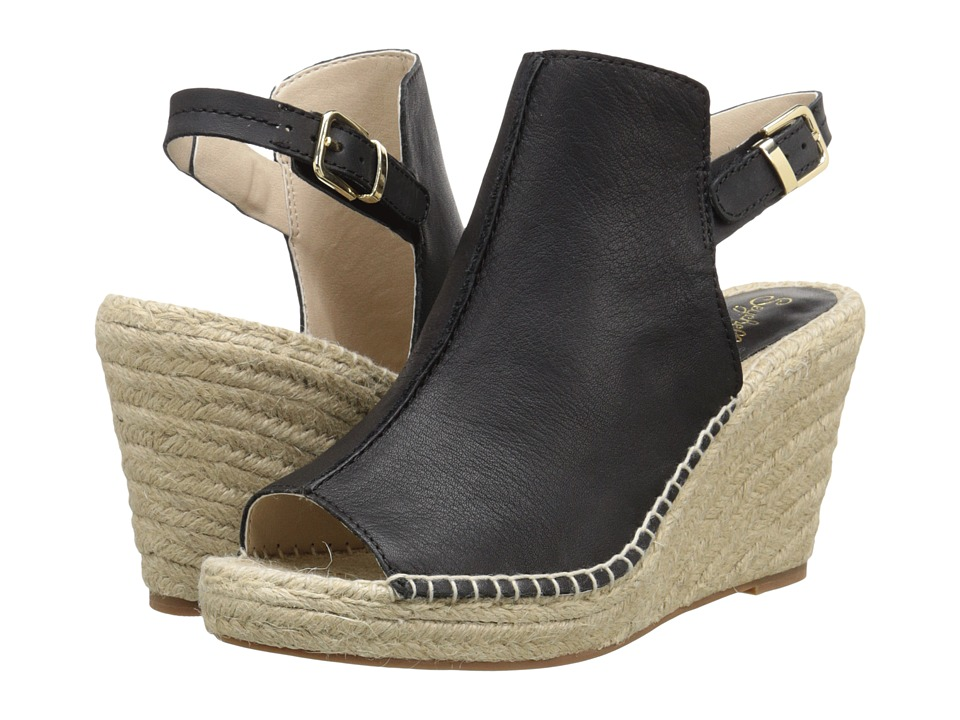 Seychelles - Charismatic (Black Leather) Women's Wedge Shoes