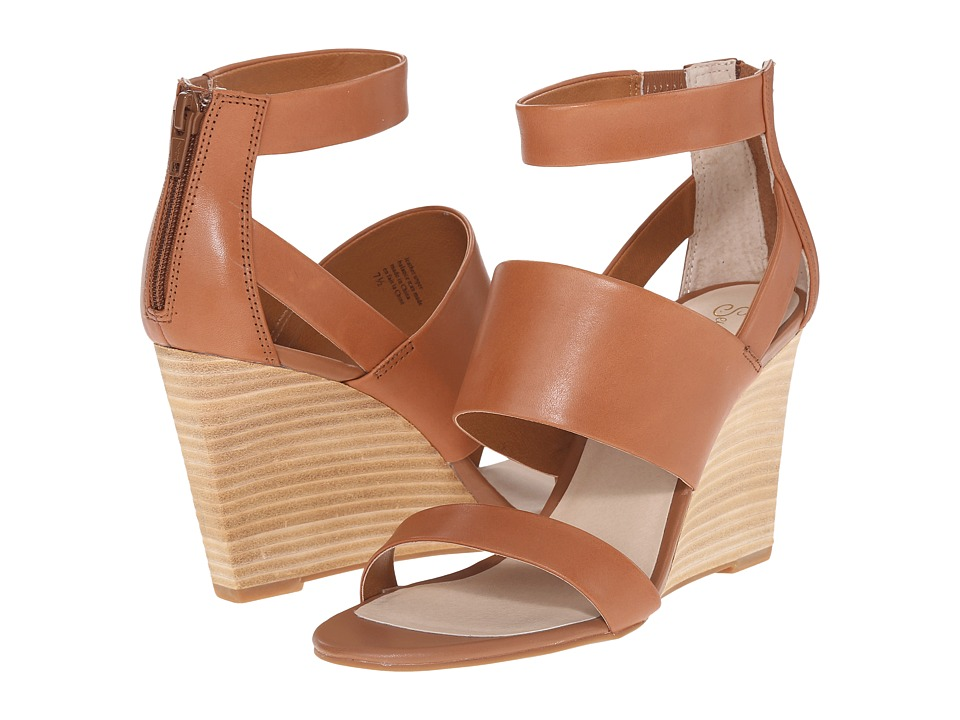 Seychelles - Suave (Tan) Women's Wedge Shoes
