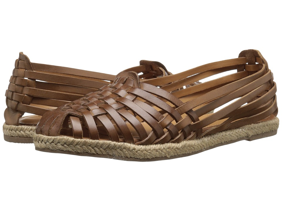Seychelles - Nifty (Tan Leather) Women's Flat Shoes