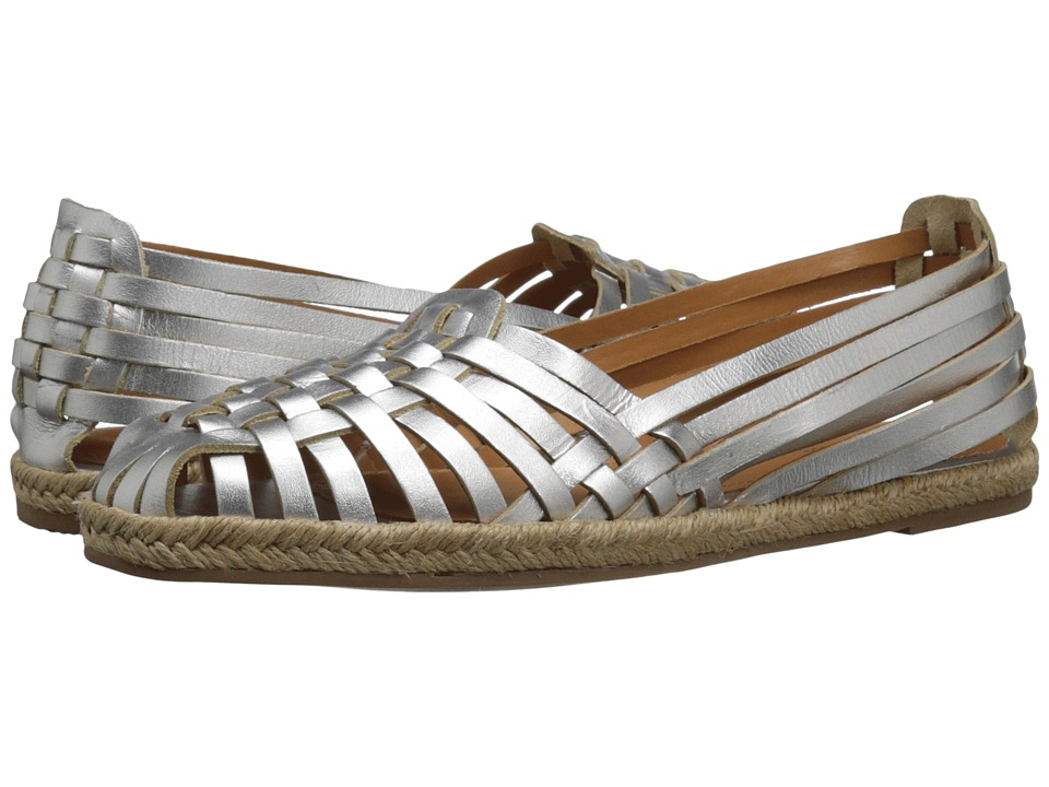 Seychelles - Nifty (Silver Leather) Women's Flat Shoes