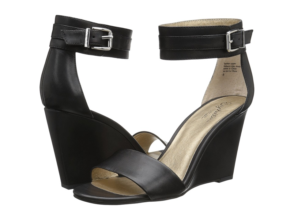Seychelles - Dreamy (Black) Women's Wedge Shoes