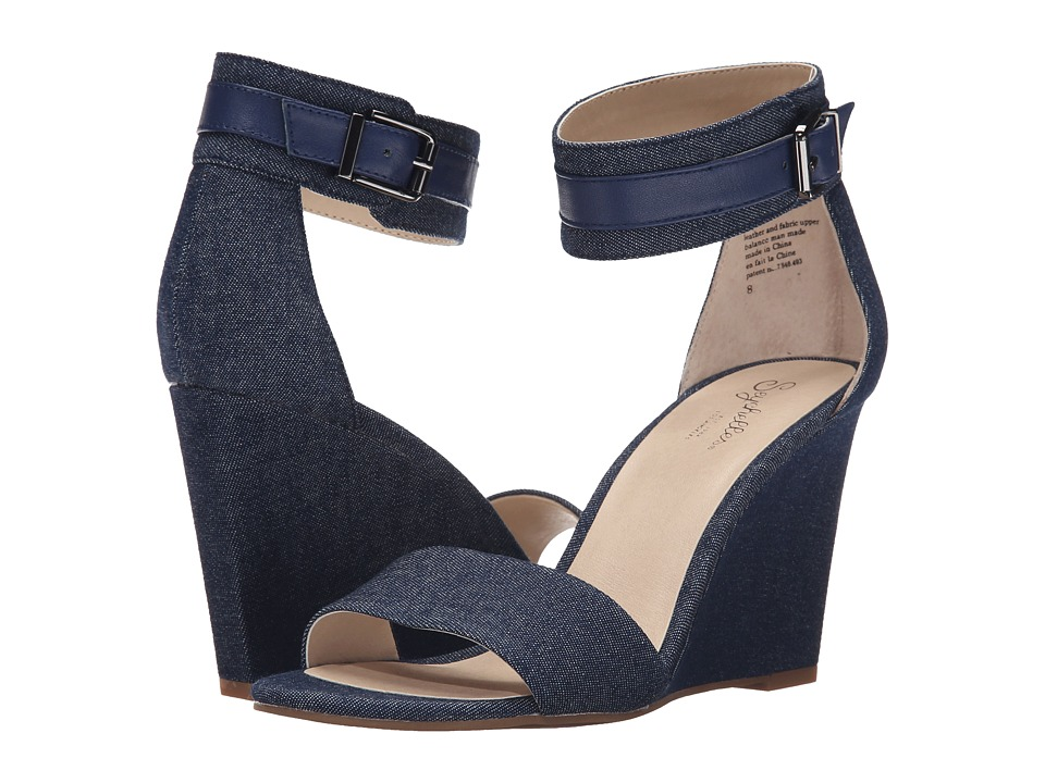 Seychelles - Dreamy (Dark Denim) Women's Wedge Shoes