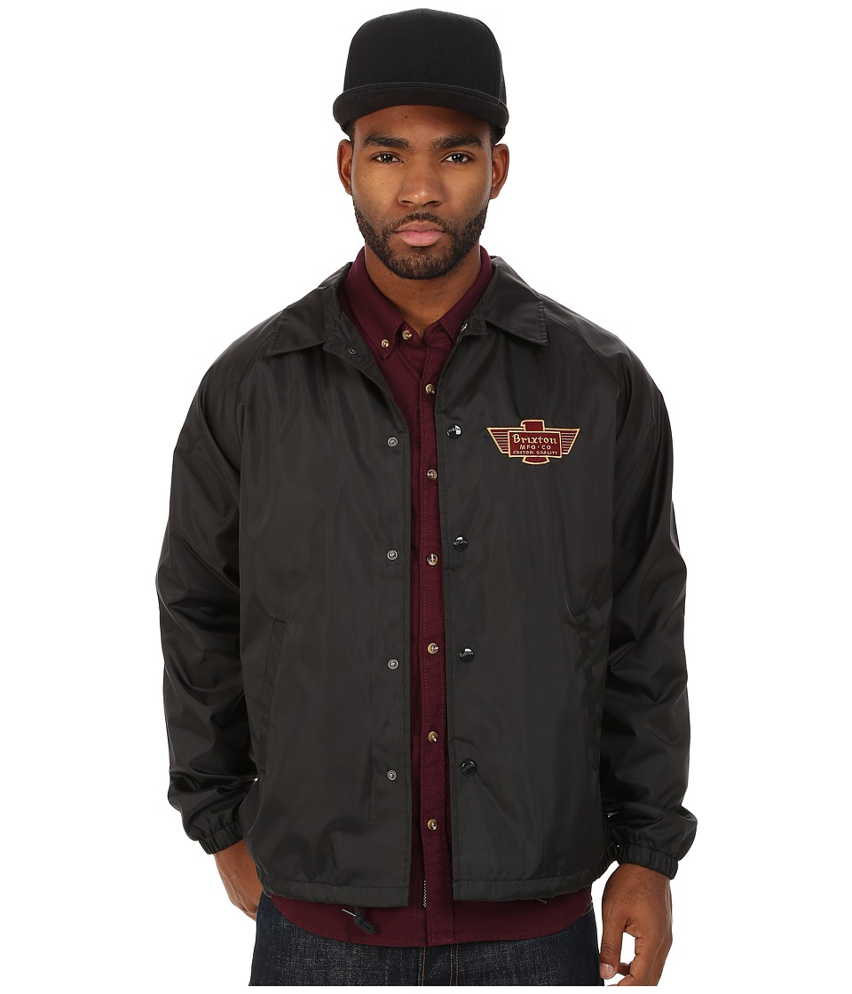 Brixton - Cylinder Jacket (Black) Men's Coat