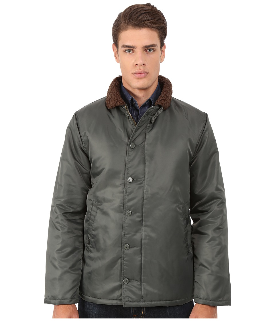 Brixton - Mast Jacket (Army) Men's Jacket