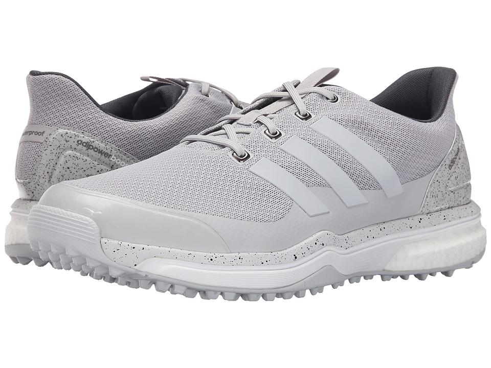 adidas Golf Adipower S Boost 2 (Light Solid Grey/Light Solid Grey/Ftwr White) Men