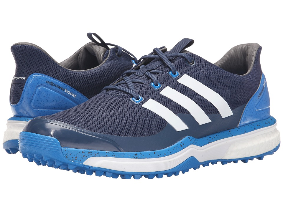 adidas Golf - Adipower S Boost 2 (Mineral Blue/Ftwr White/Shock Blue) Men's Golf Shoes