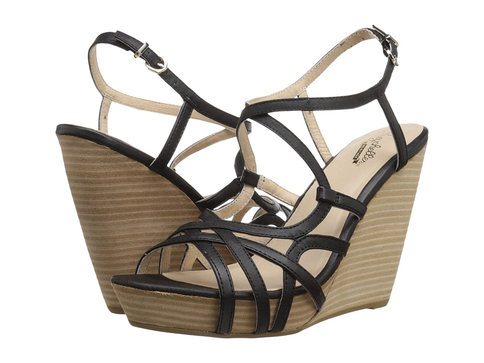 Seychelles - Diligent (Black) Women's Wedge Shoes