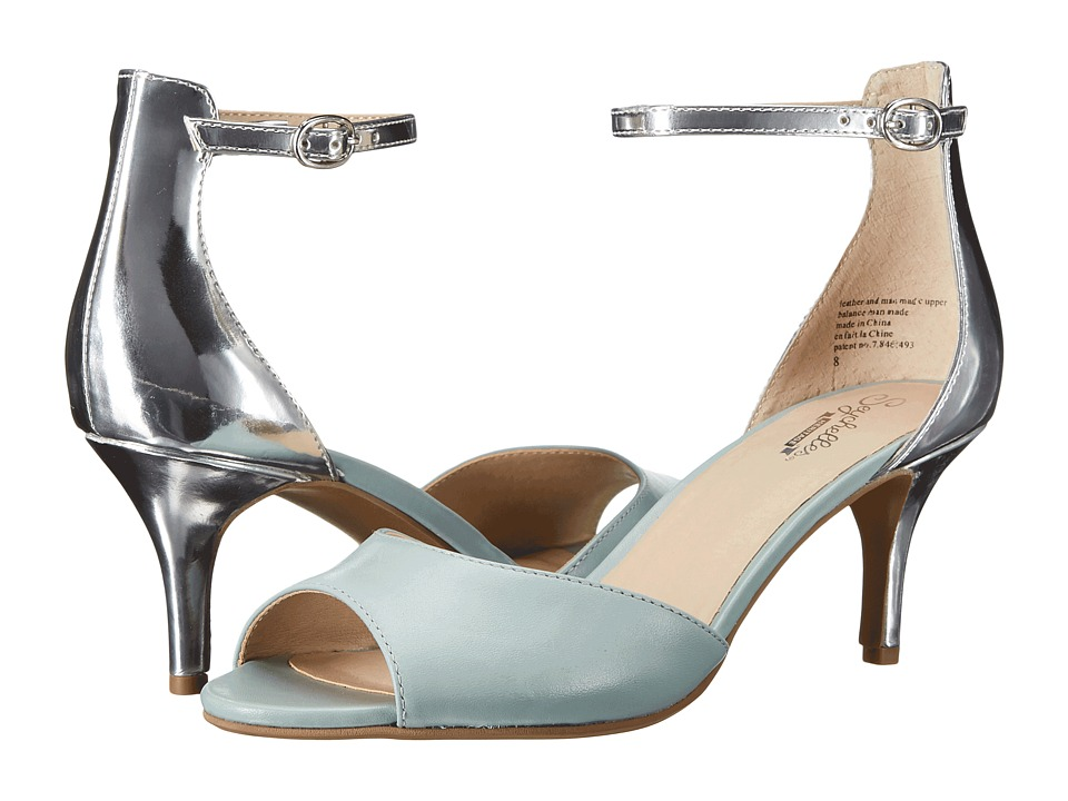 Seychelles Hazel (Light Blue/Silver Leather) High Heels