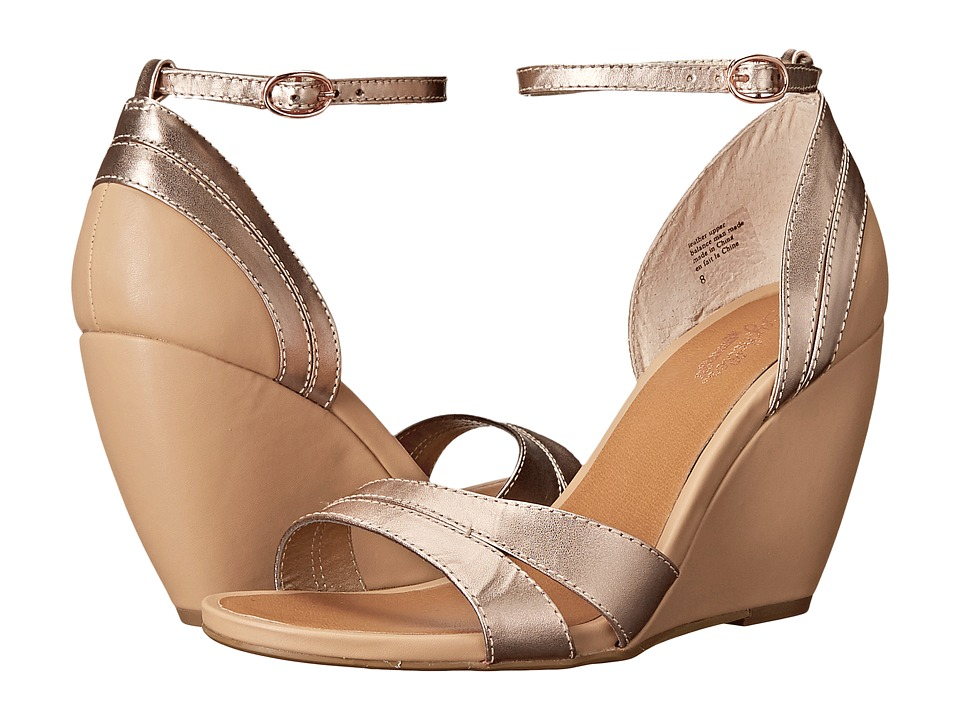 Seychelles - Choice (Rose Gold/Vacchetta) Women's Wedge Shoes
