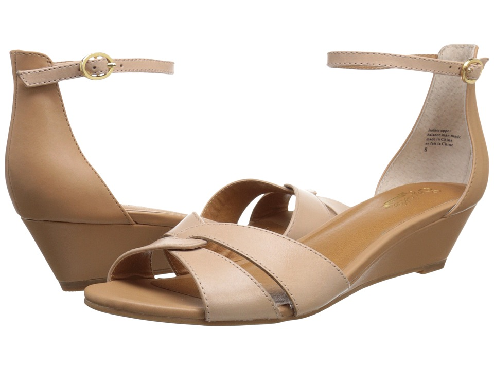 Seychelles - Darling (Nude/Luggage) Women's Wedge Shoes