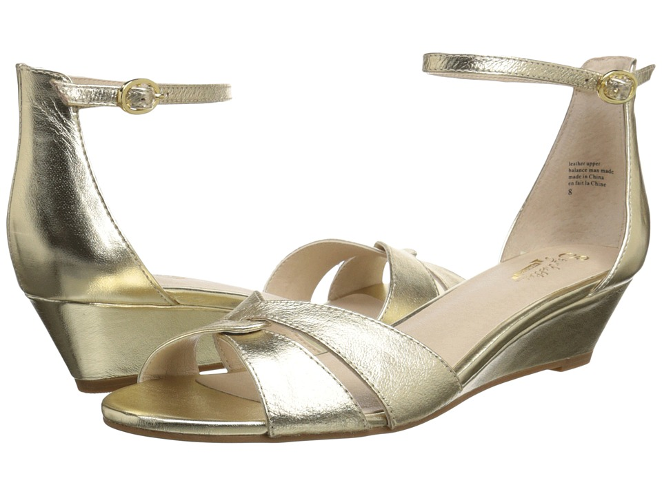 Seychelles - Darling (Gold) Women's Wedge Shoes
