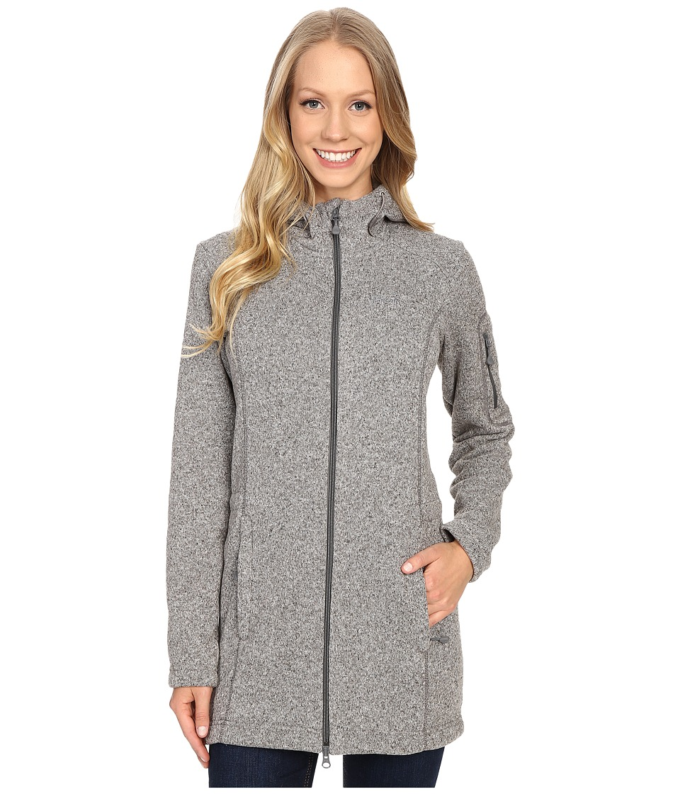 Jack Wolfskin - Caribou Parka (Light Grey) Women's Sweatshirt