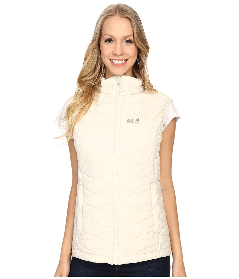 Jack Wolfskin - Glen Vest (White Sand) Women's Vest