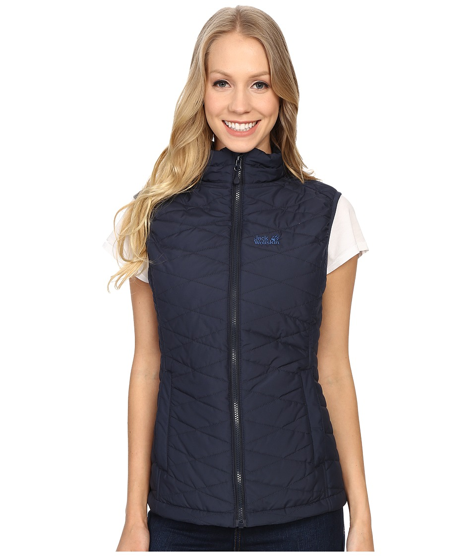 Jack Wolfskin - Glen Vest (Night Blue) Women's Vest