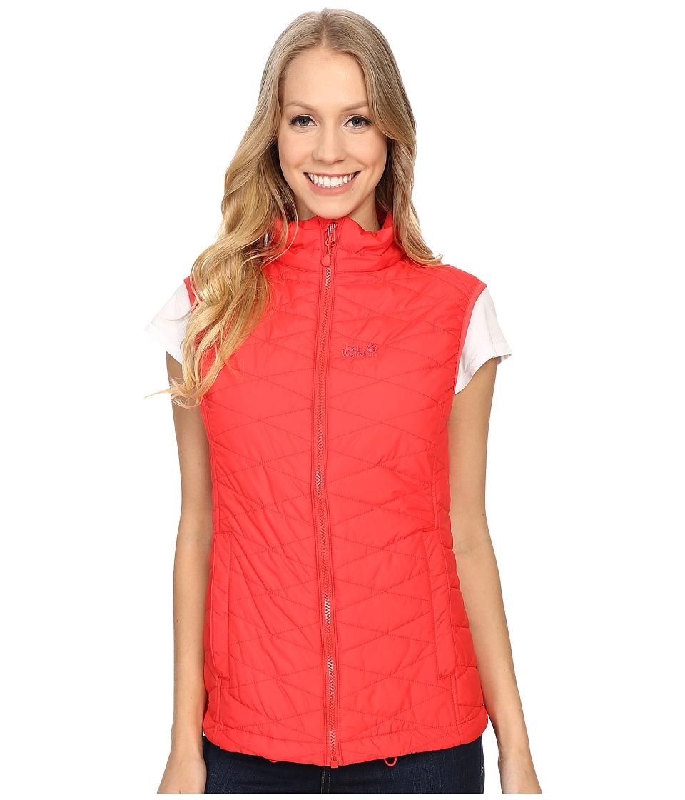 Jack Wolfskin - Glen Vest (Hibiscus Red) Women's Vest