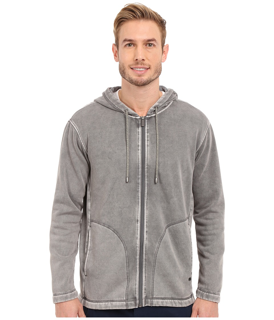 UGG - Connelly Washed Hoodie (Asphalt) Men's Sweatshirt