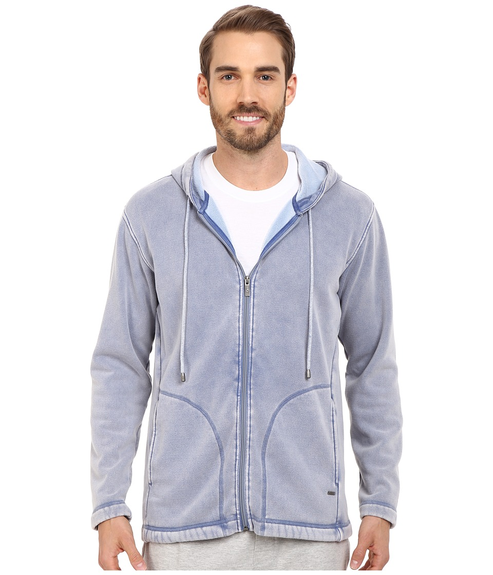 UGG - Connelly Washed Hoodie (Skyline) Men's Sweatshirt