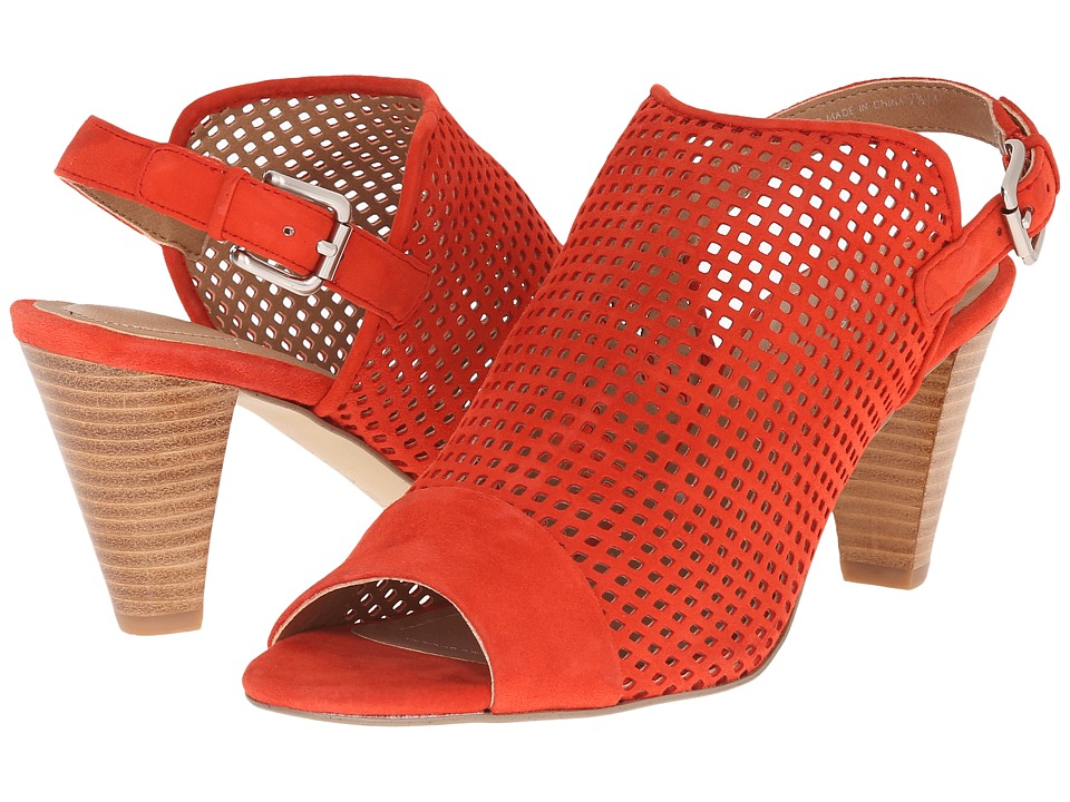Tahari - Eloise (Blood Orange Suede) High Heels
