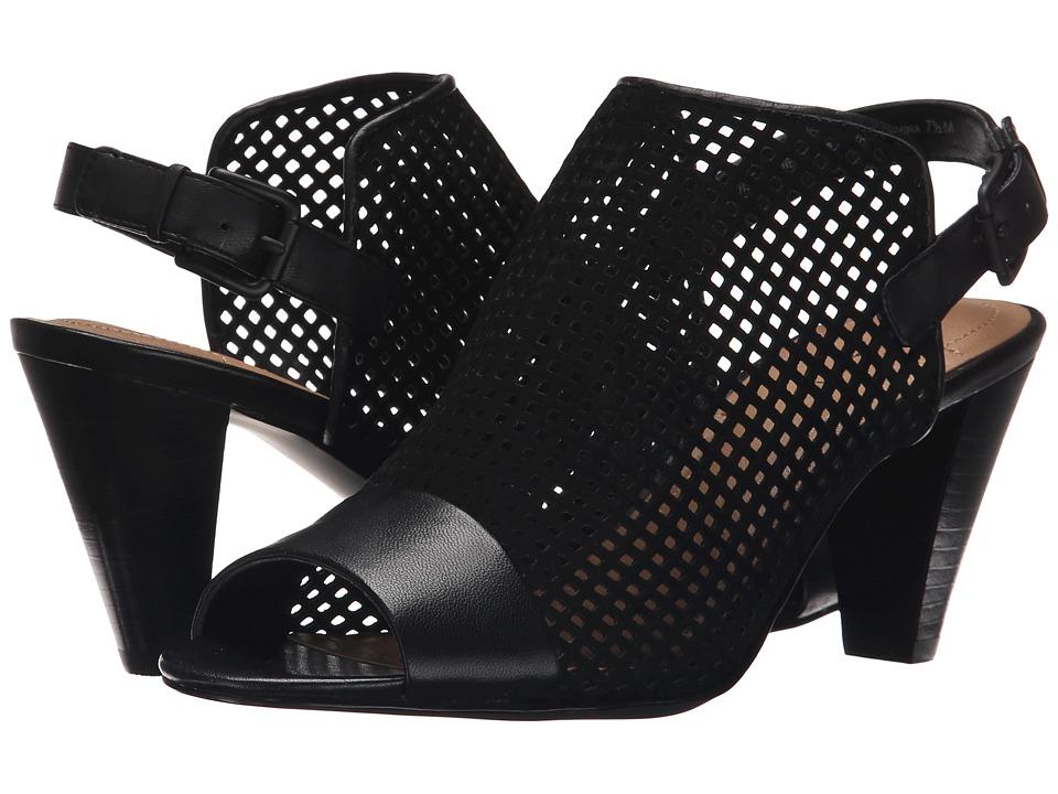 Tahari - Eloise (Black Suede) High Heels