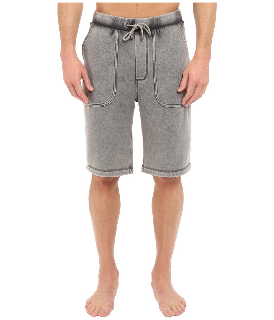 UGG - Alec Washed Shorts (Asphalt) Men's Shorts