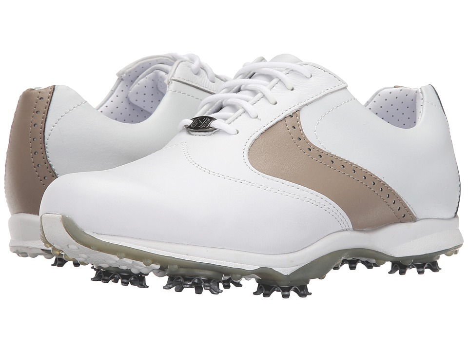 FootJoy - Embody (White/Taupe) Women's Golf Shoes