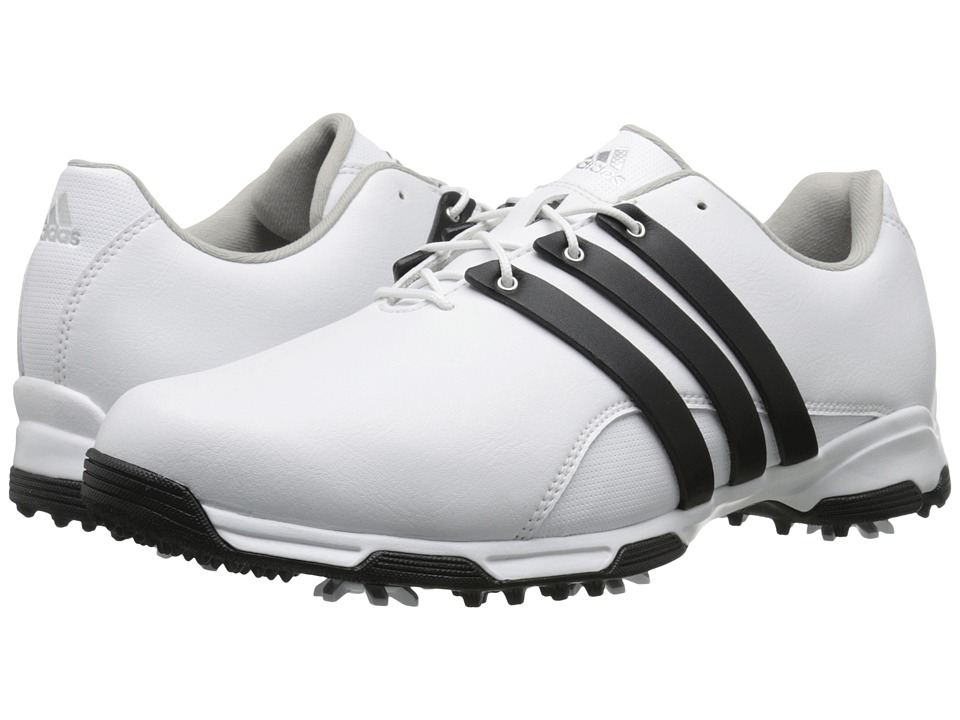 adidas Golf - Pure Trx (FTWR White/Core Black/FTWR White) Men's Golf Shoes