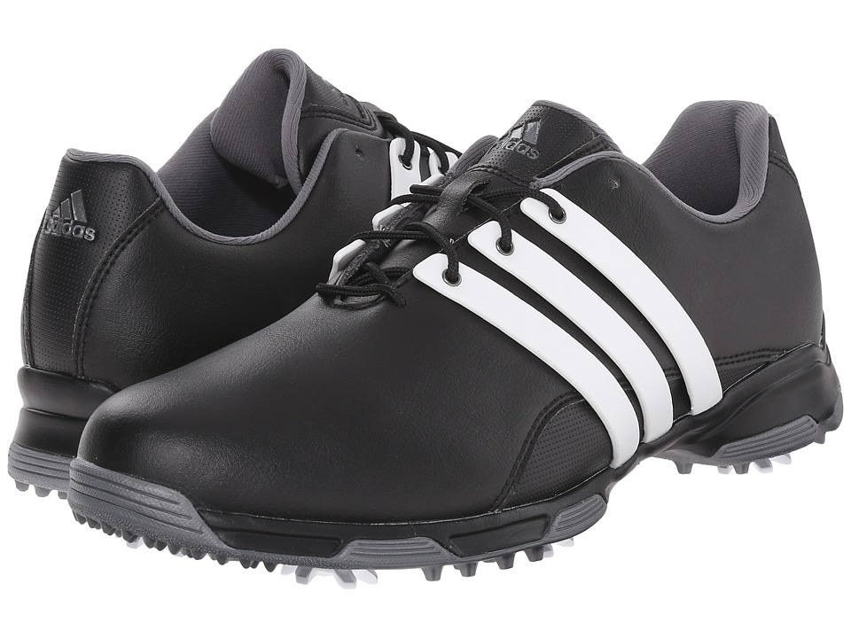 adidas Golf - Pure Trx (Core Black/Ftwr White/Dark Silver Metallic) Men's Golf Shoes