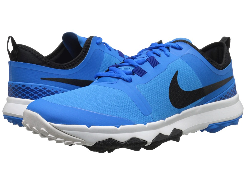 Nike Golf - FI Impact 2 (Photo Blue/Black/Summit White/Deep Royal) Men's Golf Shoes