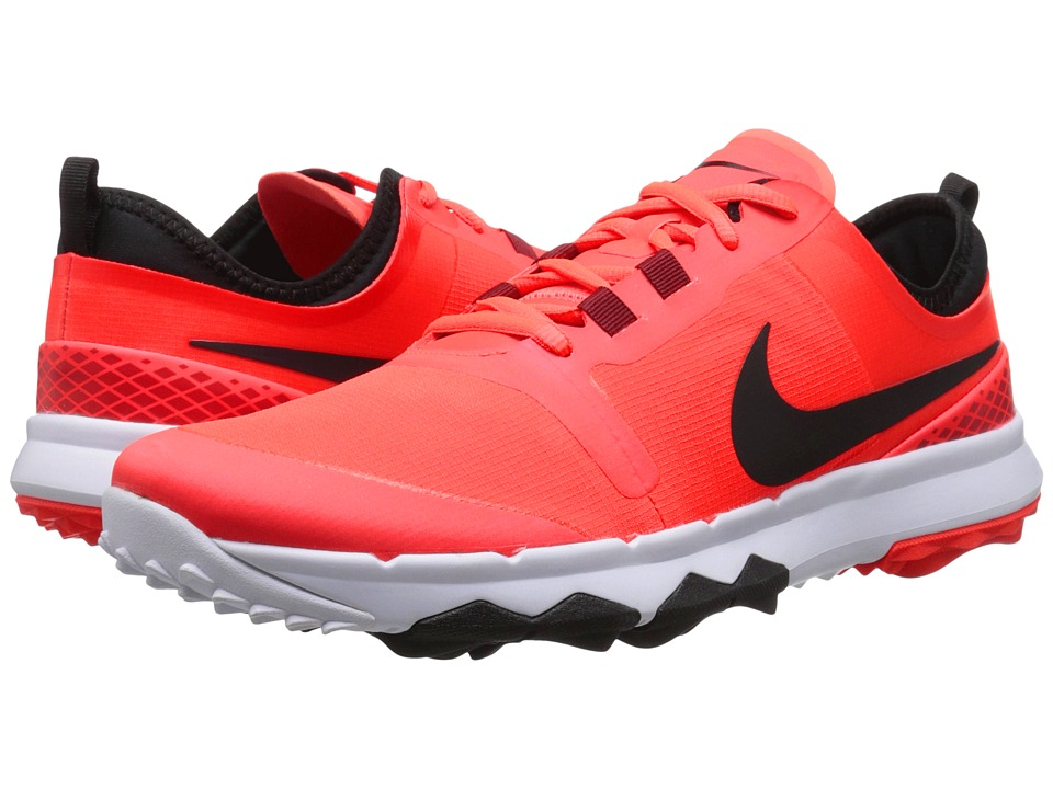Nike Golf - FI Impact 2 (Bright Crimson/Black/White) Men's Golf Shoes