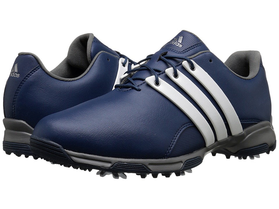 adidas Golf - Pure Trx (Mineral Blue/Ftwr White/Iron Metallic) Men's Golf Shoes