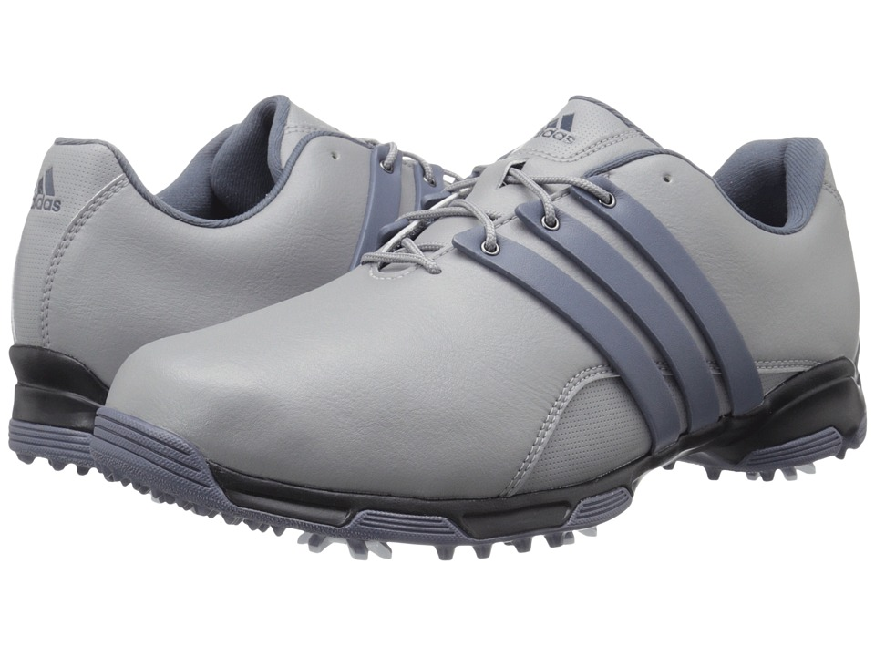 adidas Golf - Pure Trx (Light Onix/Onix/Core Black) Men's Golf Shoes