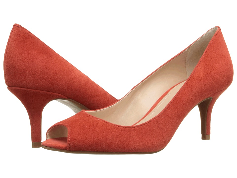 Tahari - Janna (Blood Orange Kid Suede) High Heels